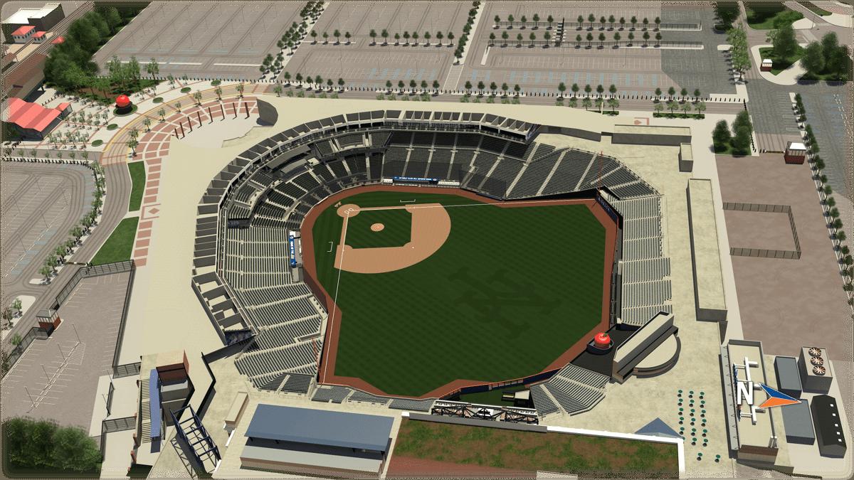 Seat Map | Citi Field | New York Mets Citi Field Gate Map on