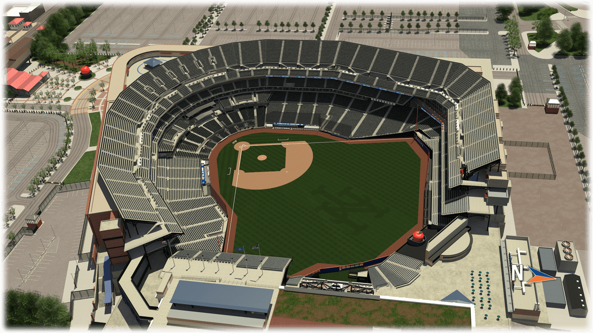 Seat Map | Citi Field | New York Mets Citi Field Seating Map on