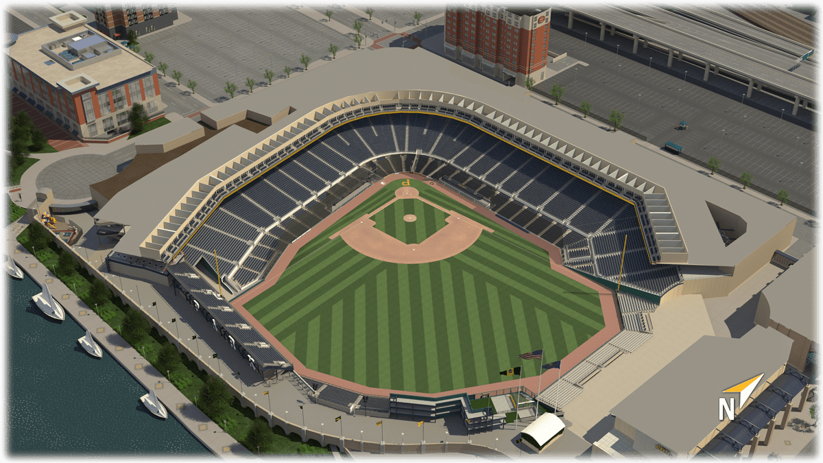 Pnc Park Seating Map PNC Park 3D Seating Chart | Pittsburgh Pirates