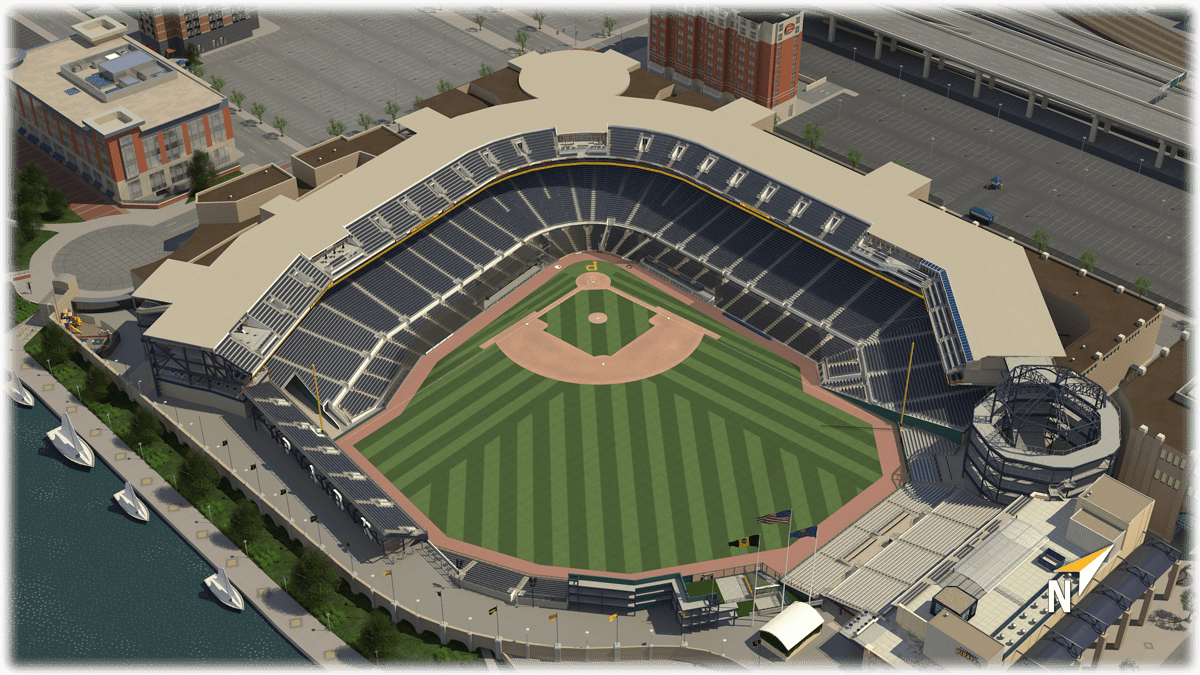 Pnc park 3d seating chart pittsburgh pirates