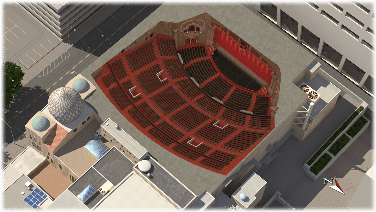 360 seat map fox theatre